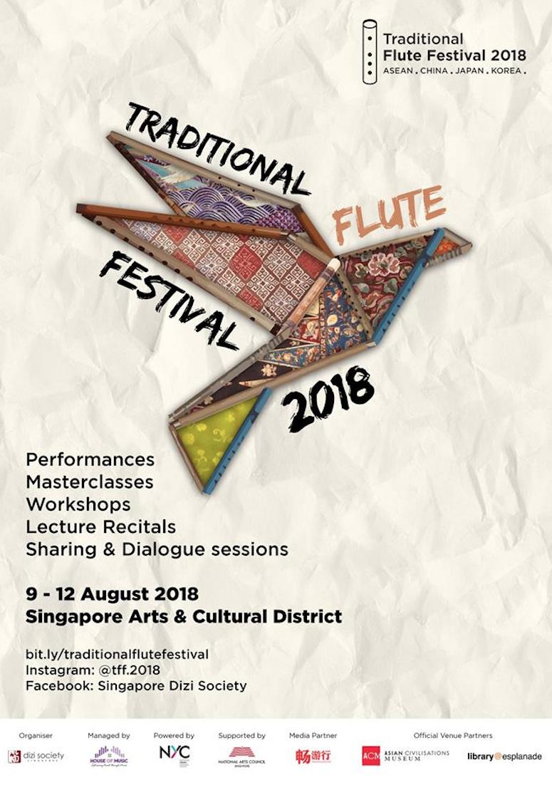 Traditional Flute Festival 2018 in  Singapore- Twilight Tunes