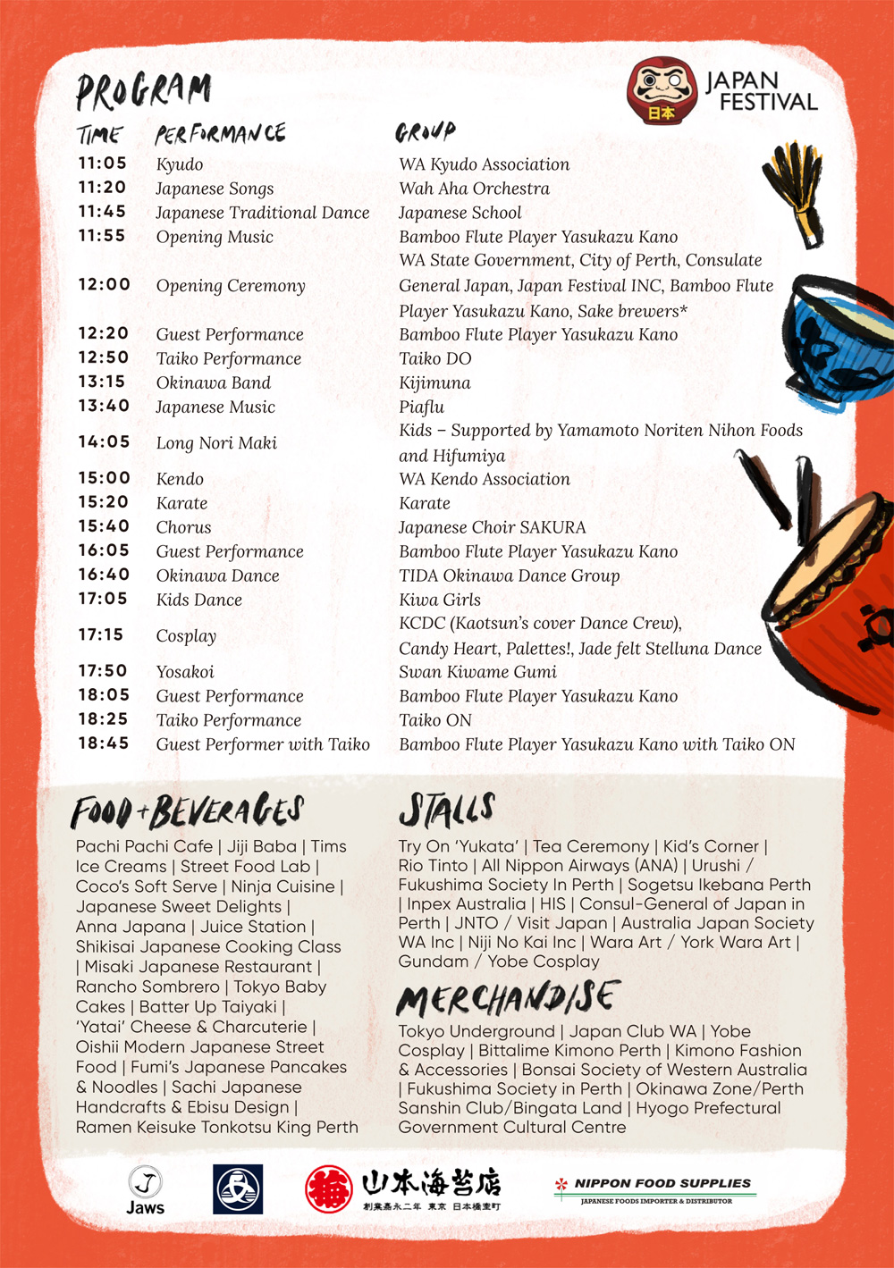 The 7th Perth Japan Festival 2020