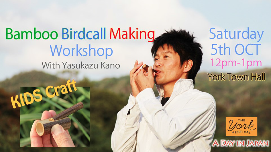 Toribue Birdcall Whistle Craft Workshop for kids